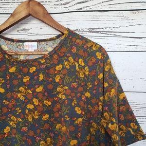 LuLaRoe / floral print irma / XS